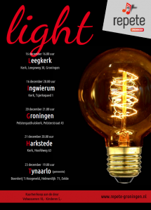 Repete light - poster afbeelding