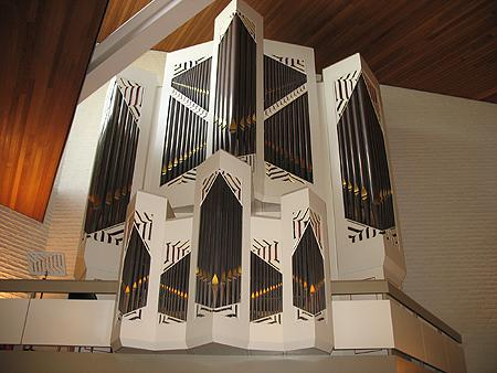 De rank orgelfront