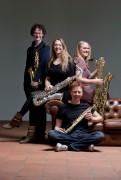 Berlage saxophone quartet - foto marco borggreve