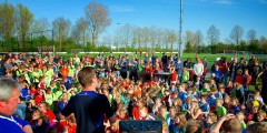 Schoolvoetbal zuidhorn 2014