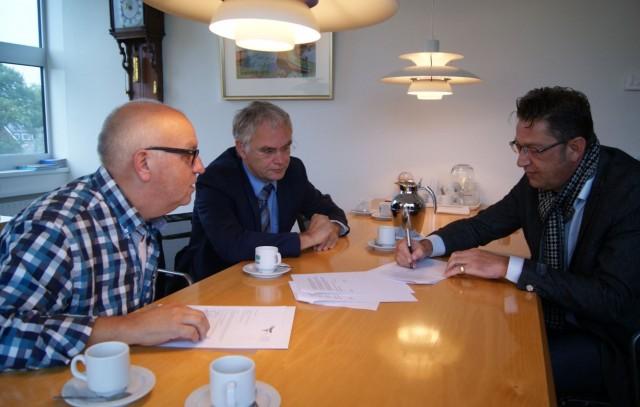 Ondertekening convenant ondernemersfonds