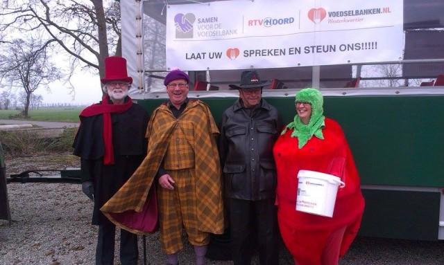 Voedselbank vrijwilligers