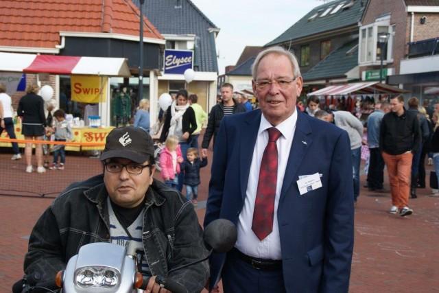 Burgemeester Dijkstra Grootegast kiest voor Zuidhornfeest