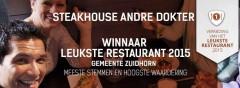 Andre dokterwinnaar leukste restaurant 2015