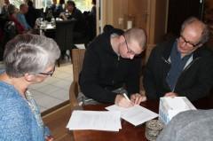 Adewerth ondertekening