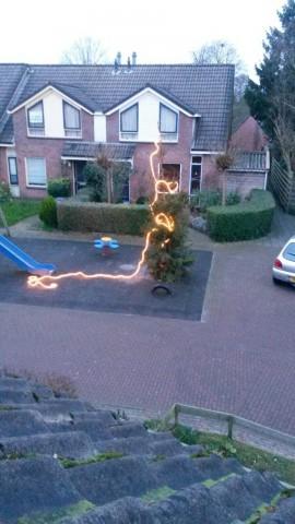 Kerstboom Klein Frankrijk