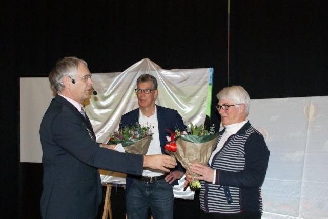 afscheid van Ineke Admiraal en Pieter Veenstra