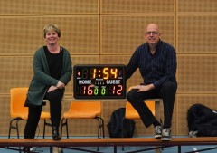 Sponsors scorebord dunk
