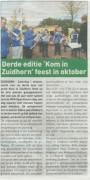 2016-07-26 kom in zuidhorn streekkrant