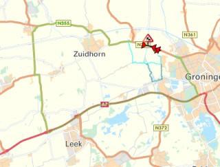 Friesestraatweg gestremd van 21 tot 30 oktober
