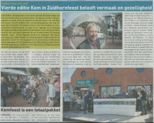 In de pers streekkrant kom in zuidhorn 26 september 2017