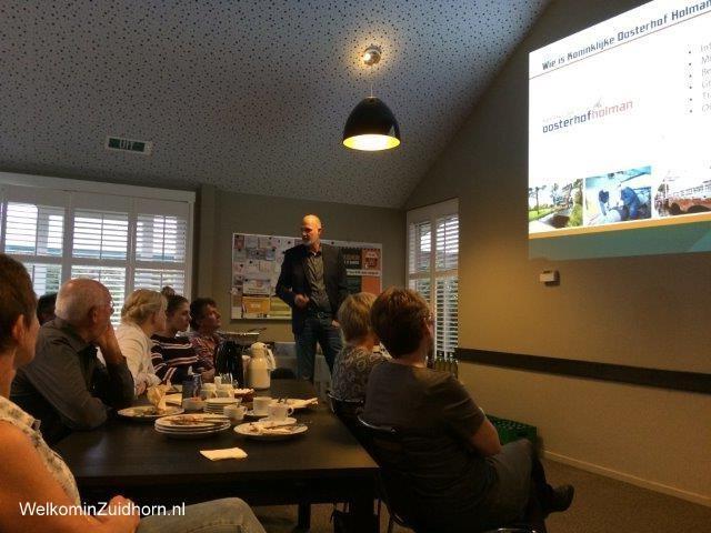Ondernemers op bezoek bij Koninklijke Oosterhof Holman - Nieuws ...