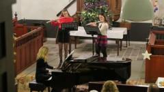 Kunstbedrijven dwarsfluit en piano