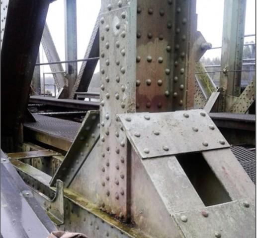 Oplegknooppunt spoorbrug