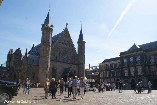 Ondernemers uit Zuidhorn op politieke safari in Den Haag