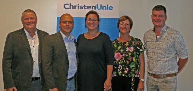 ChristenUnie Westerkwartier heeft de Kandidatenlijst en Verkiezingsprogramma vastgesteld.