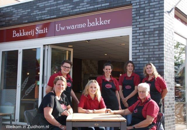 Team van Bakkerij Smit staat voor u klaar!