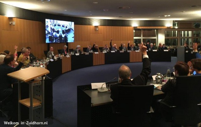 Raadsvergadering-stemming
