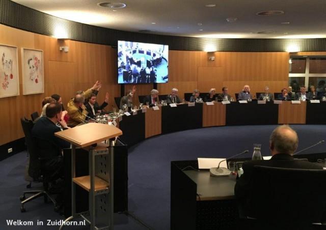 Raadsvergadering-groen links