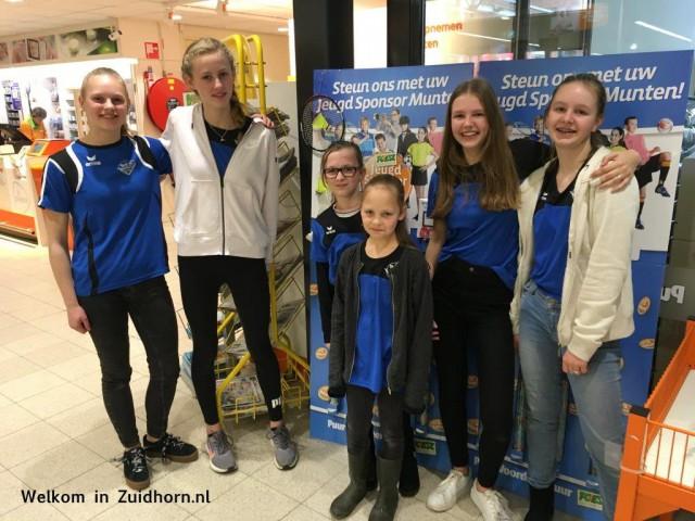Badmintonvereniging Zuidhorn scoort munten