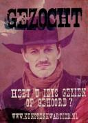 Gezocht poster a3 kl