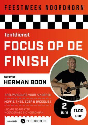 Focus op de finish - tentdienst noordhorn