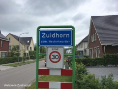Zuidhorn-entree