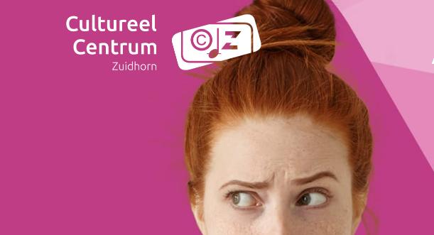 Verwonder je. Dichtbij. Programmering Cultureel Centrum Zuidhorn 2019