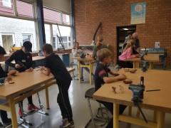 Schoolbezoek terra