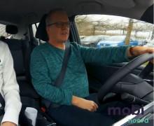 Henk bakker achter het stuur