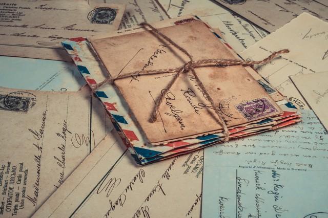 Ansicht kaart post