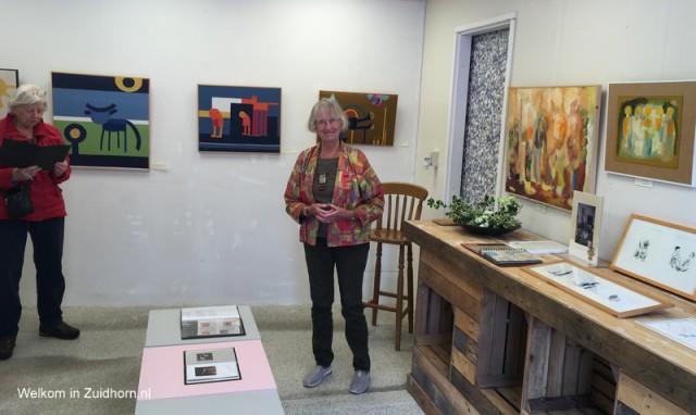 Werk van Tosja en Gerard Schaeffer in Zuidhorn