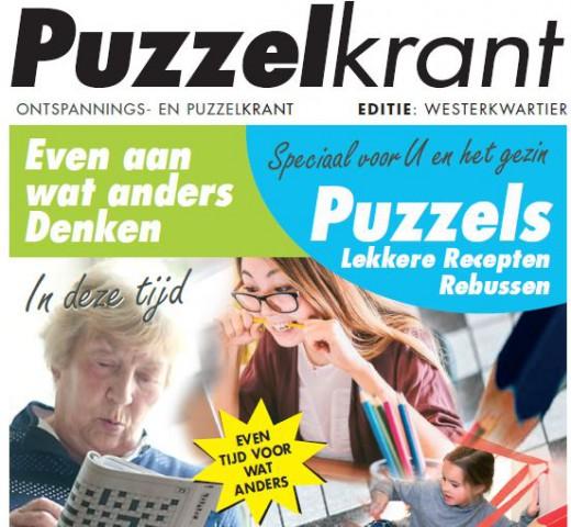 Rennie Ten Brinke en Janet Poeste: Prijswinnaars Puzzelkrant Westerkwartier