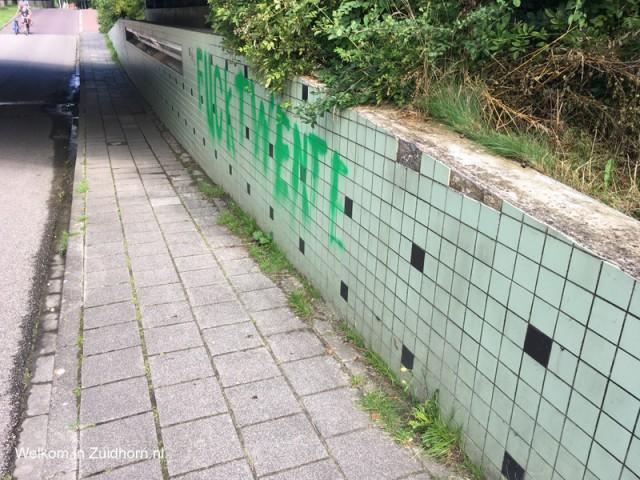 Grafitti Westergast spoor