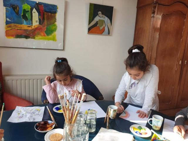 Kunstetalageroute Zuidhorn inspireert kinderen