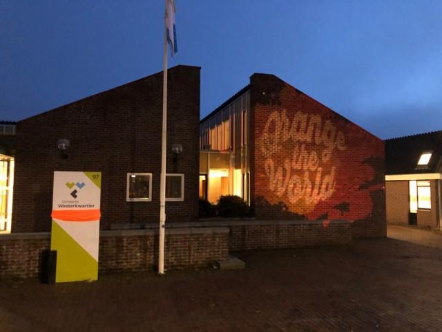 Grootegast met logo orange the world