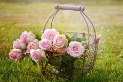 Bloemen rozen boeket