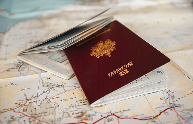 Paspoort reis