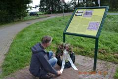 Kranslegging monument
