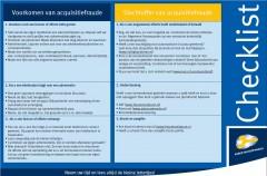 Acquistiefraude-checklist