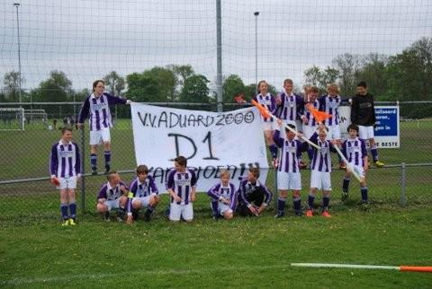 Kampioen d1 aduard2013
