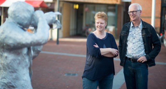 Ester en Johan. Foto: Aernout Steegstra